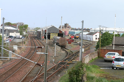 General view from south of Ayr depot
