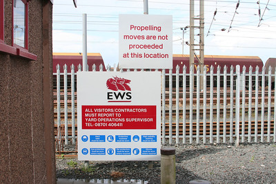 Falkland depot signage