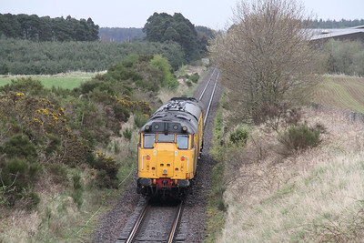 2Q88 heads for Aberdeen to the east of Inverness heading for Dalcross