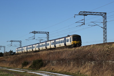 365525 eastbound at Freelands Road, Ratho