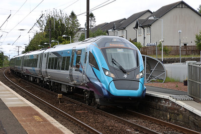397008 passes Kirknewton with  1M95 1412 Edinburgh - Manchester Airport 4th June 2020