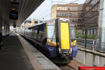 380101 at Platform 0, Haymarket