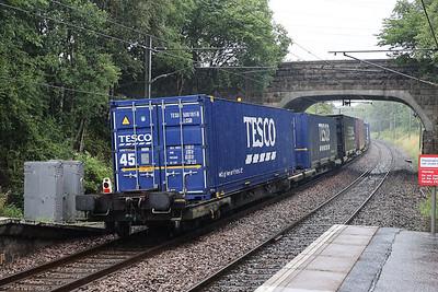 4E96 Grangemouth - Tees at Curriehill 22nd July 2020