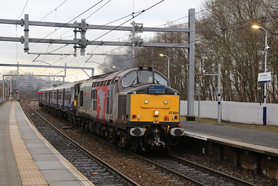 37800 drags 320322 through Springburn. Quality thrash and tones....