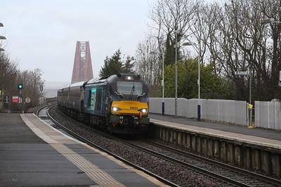 68033 2Z10 Kirkcaldy to Haymarket Rugex