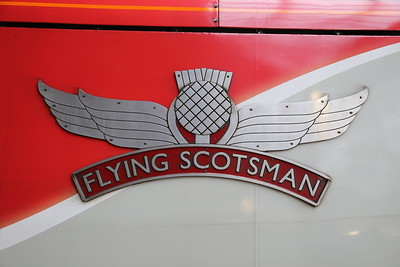 91001 Flying Scotsman nameplate