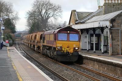 66186 6K35 Larbert - Millerhill passes Linlithgow