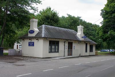 Dornoch Station building