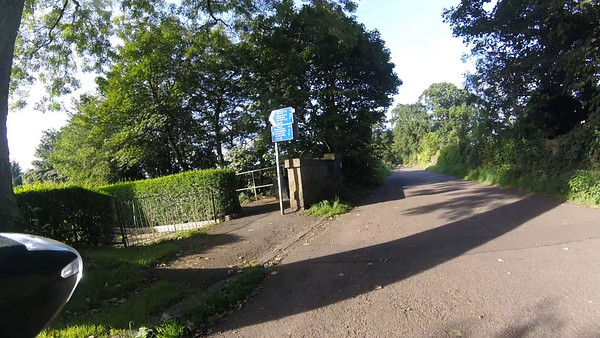 Dalmeny village to South Queensferry - Port Edgar branch