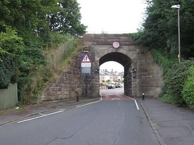 Craigleith Road - Granton Branch with Granton to right