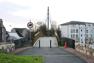 Bridge crossing A9013 Holburn Street Aberdeen which maintains the Deeside Line Link