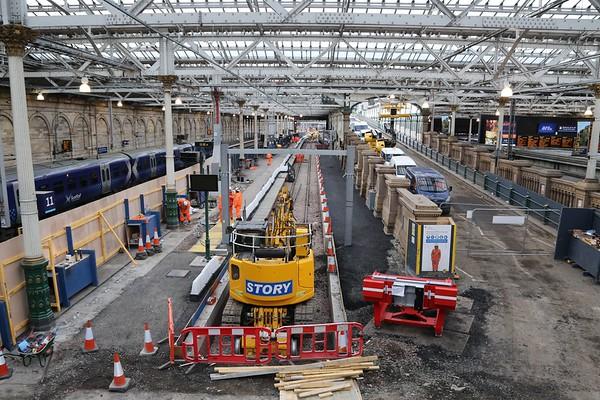 Platform 12 extension 4th December 2017