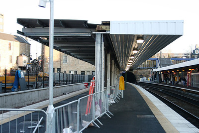Haymarket Platform 0 lighting
