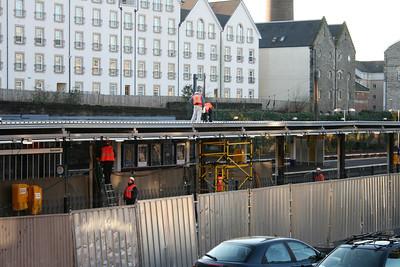 Haymarket Platform 0 roof works