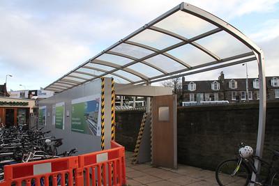 Haymarket - temporary Platform 1 access