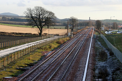 Alloa B909 looking east