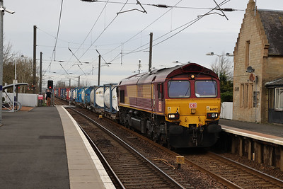 66002 4E96 Mossend - Tees at Kirknewton 31st March 2021