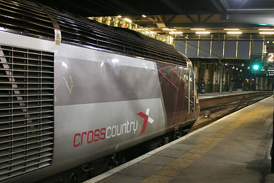 43378 new XC Livery at Waverley 22 December 2008