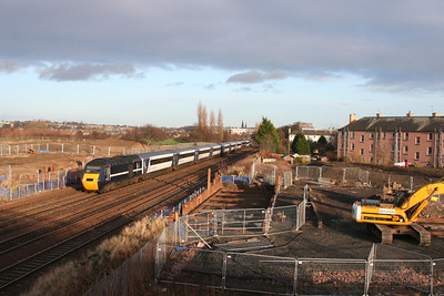 Saughton Junction (nearly) - enabling works start for the viaduct