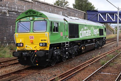 66004 on the 0609 Toton - Mossend at Carstairs 14th September 2021