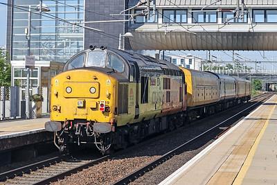 37219 pushing 3Q19 past Edinburgh Park  1st June 2020