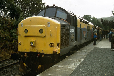 37232 having escaped to the Bo'ness and Kinneil Railway seen here at Kinneil