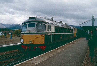 26001 and 26042 Aviemore 12 September 1992