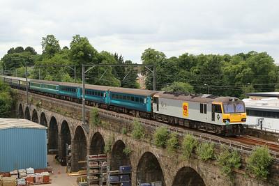 92041 Slateford viaduct 1Z66 Stockport - Edinburgh