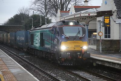 68003 Laurencekirk 4A13 Grangemouth Aberdeen 21st January 2015