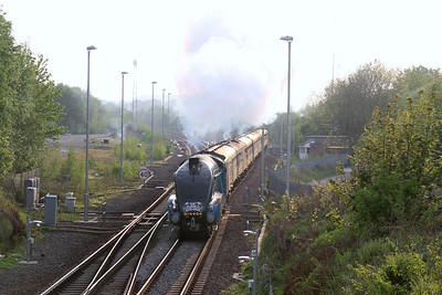 4464 aka 60019 Bittern passing Polmont with The Cathedrals Express 23 May 12