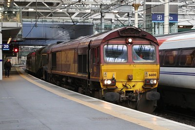66100 drags 60009 and 35486 through Waverley - 5Z69 for Thornton