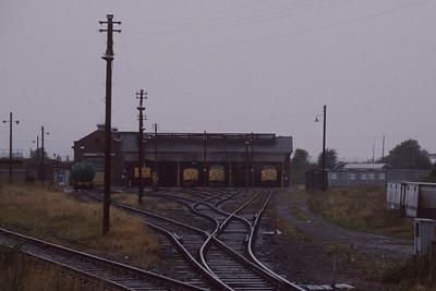 Grangemouth depot