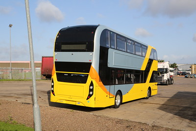 Enviro CBG400City at Scania Newbridge