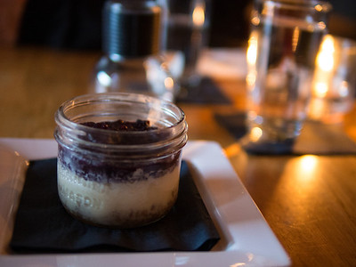 Wild Blueberry Cheesecake