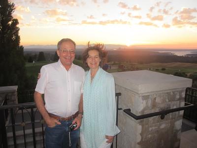 Jurg and Anita Visit