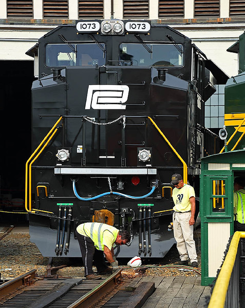 NS 30th Anniversary celebration at the North Carolina Transportation Museum in Spencer,NC