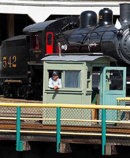 North Carolina Transportation Museum in Spencer,NC
