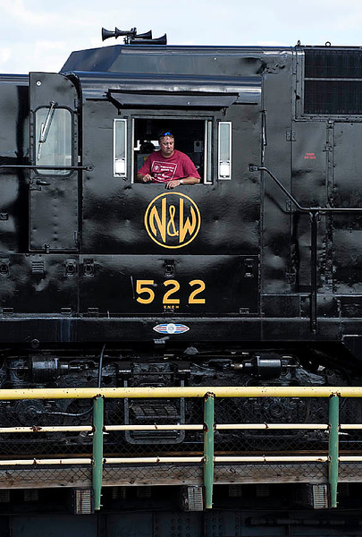 Norfolk & Western Ry GP30 #522 at the North Carolina Transportation Museum in Spencer,NC