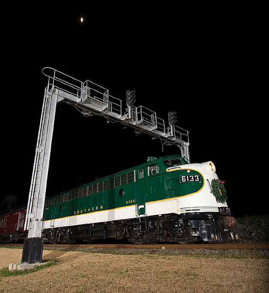 Southern RY FP7 #6133 at the North Carolina Transportation Museum in Spencer,NC.