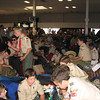 It was quite crowded in the terminal with all the Scouts, even though this week's load was about half of a normal summer week!