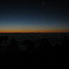 This photo and the 4 following are attempts to capture Venus and Jupiter, which were very bright in the predawn eastern sky.