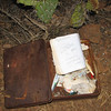 This is what I thought was a summit register, but now I think it is actually the old Silver Peak Geocache. I found it in amongst a patch of cactus.