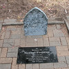 """This """"grave site"""" is found behind the Pennington Marine Science Center, near the chapel."""