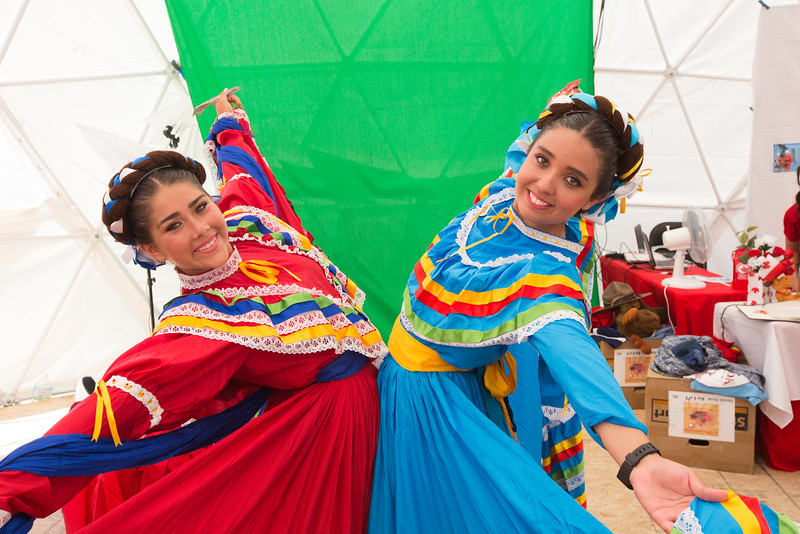 Mexican dancers from next door