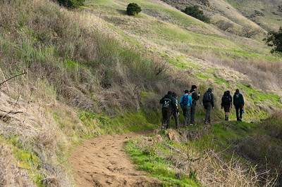 Alum Rock hike with Troop 170