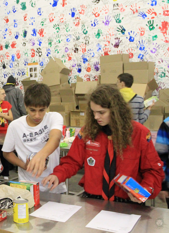 Food_Drive_Scout Food Drive_IMG_0899