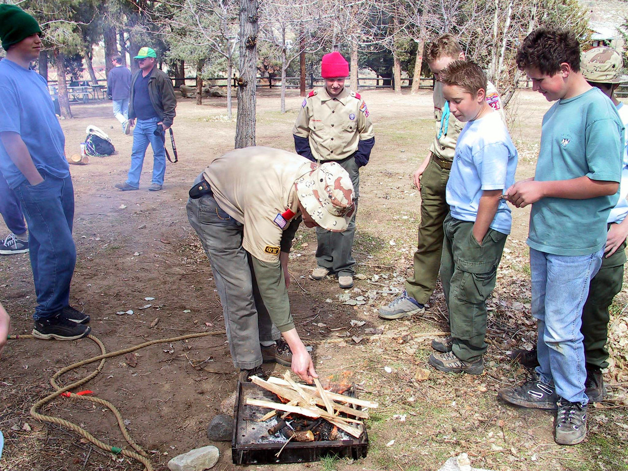 2002 - Winter Camp - Troop 155
