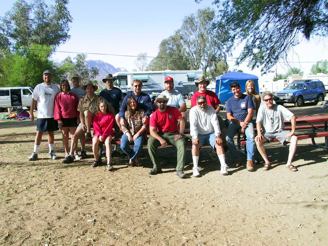 2002 - Colorado River Campout - Troop 128