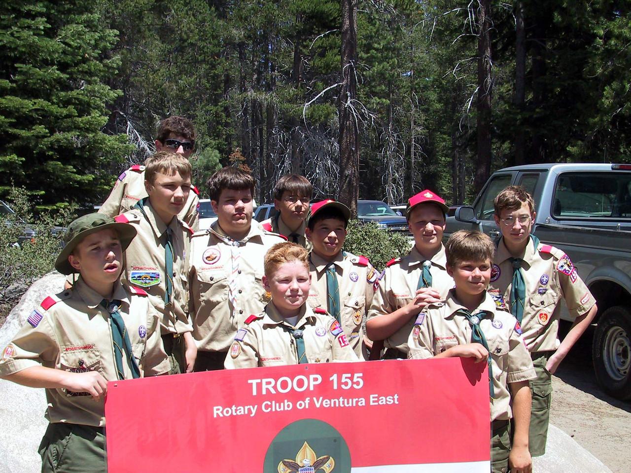 2002 - Summer Camp (Camp Kern) - Troop 155