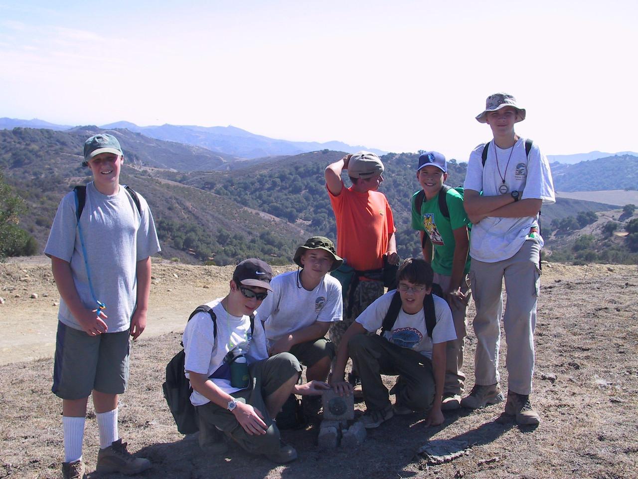 2002 - Hike in Ojai - Troop 155